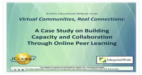 Building a Virtual Community