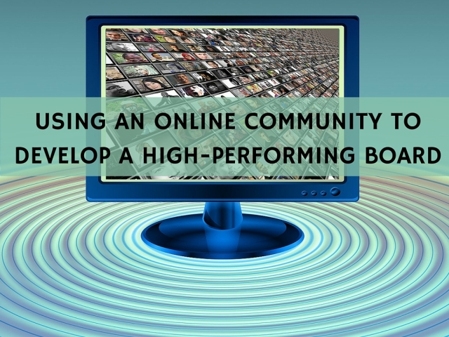 USING AN ONLINE COMMUNITY