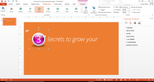 Use Powerpoint's animation tools