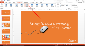 Powerpoint slide transition tools