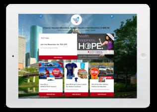 Virtual Event Bag Example